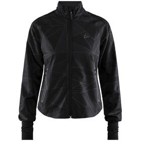 Craft Eaze Short Jacket Dame print verdure black